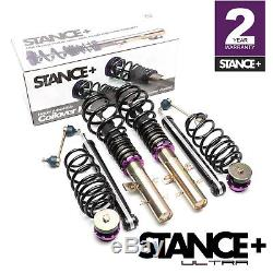 Stance+ Ultra Coilovers Suspension Kit VW Polo Mk4 (9N/9N2/9N3) Petrol Engines