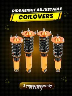 Suspension Coilover Set For Mazda Miata MX5 MX-5 MK1 MK2 Struts Shock Adjustable