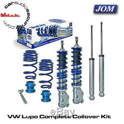 VW Lupo 1.0/1.4/16V/1.6GTi/1.4TDi/1.7SDi 99 JOM Coilovers Kit 741071