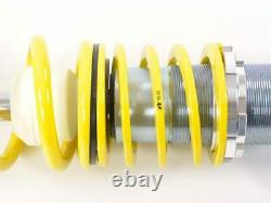 VW Polo 6R FK AK Street Coilovers Height Adjustable Suspension Kit 2009