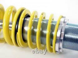 VW Polo 9N FK AK Street Coilovers Height Adjustable Suspension Kit 2001